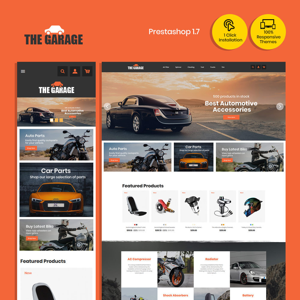 theme - Auto & Moto - The Garage Car - Auto Store - 2