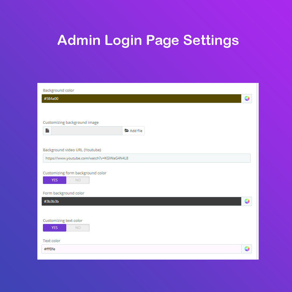 module - Dashboard - Customize The Admin Page PRO - 5