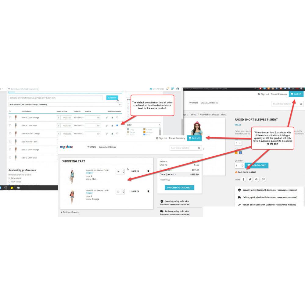 module - Bundels & Personalisierung - Single Stock Attribute - Stock Control - 1