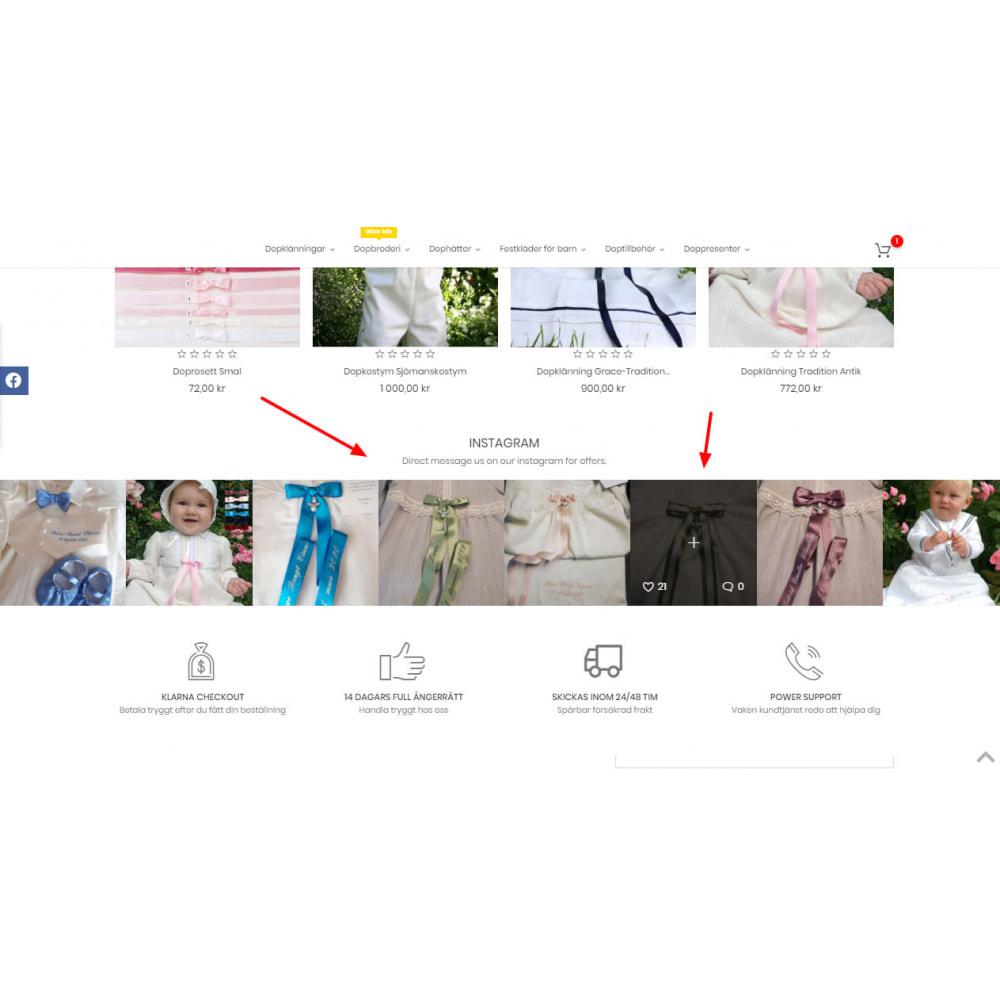 module - Produits sur Facebook & réseaux sociaux - Social Feed Slider - Instagram New API - 2