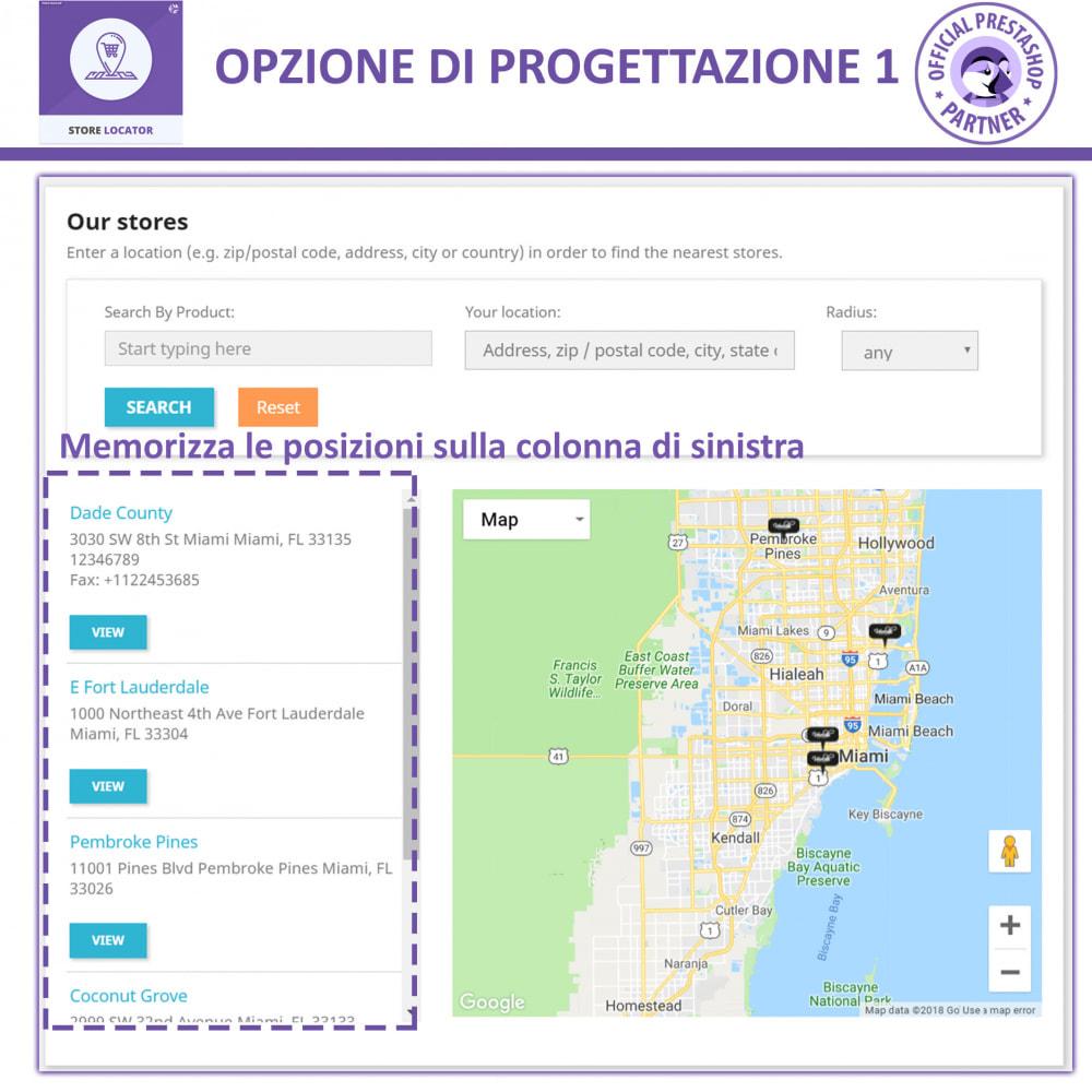 module - Lingue & Traduzioni - Localizzatore Store con Google Maps - 2