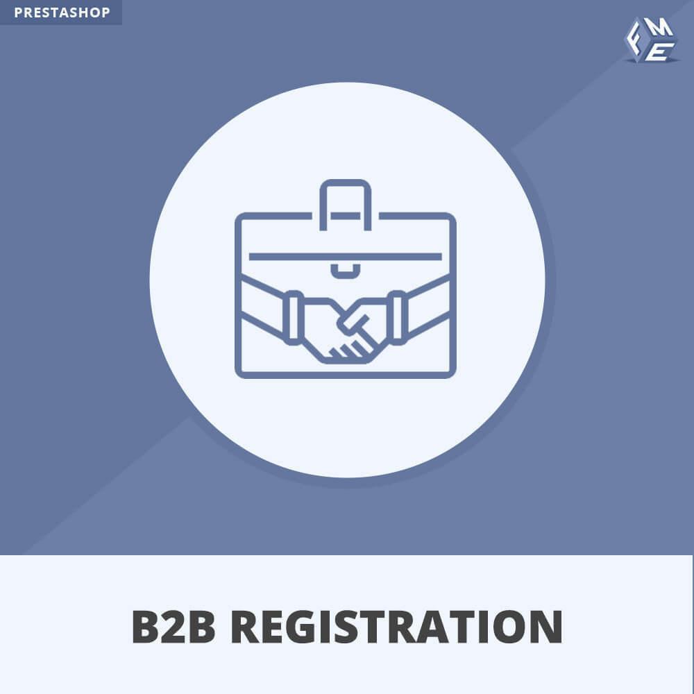 module - Pегистрации и оформления заказа - Регистрация B2B - 1