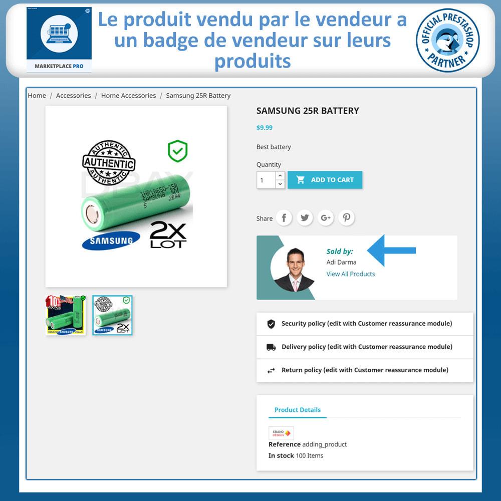 module - Création de Marketplace - Multi Vendor Marketplace  - Marketplace Pro - 6