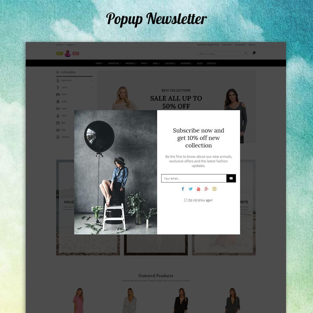 theme - Moda & Calzature - Coco - Fashion and Shose online store. - 3