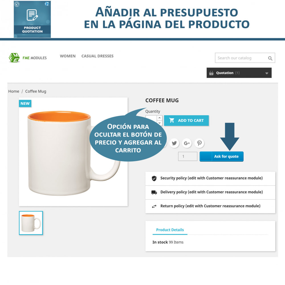 module - Presupuestos - Cotización de Producto - Permitir al Cliente Cotizar - 3