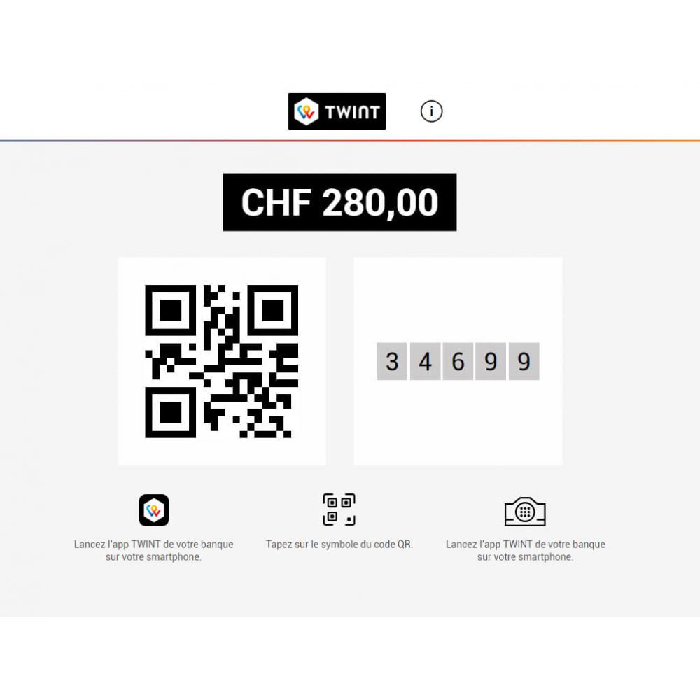 module - Pagamento por cartão ou por carteira - PostFinance & Twint - 5