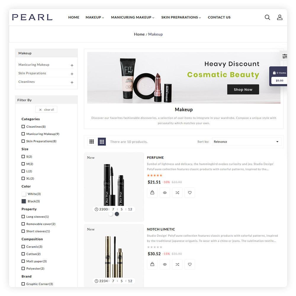 theme - Gezondheid & Schoonheid - Peral Cosmetic Store - 4