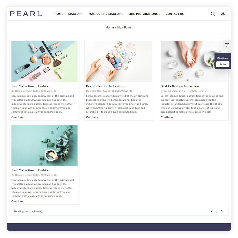 theme - Gezondheid & Schoonheid - Peral Cosmetic Store - 6