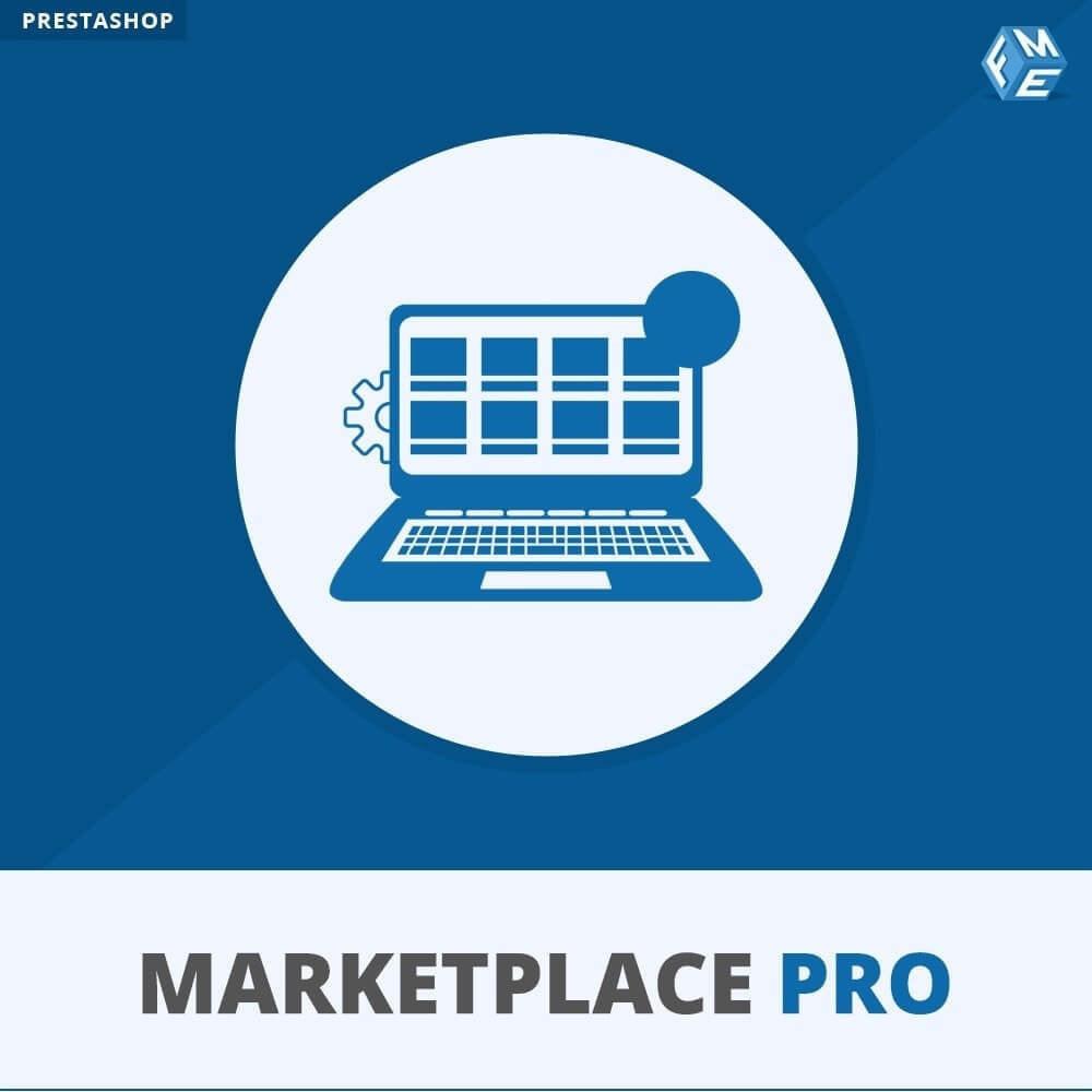 module - Marktplaats opzetten - Multi Vendor Marketplace  - Marketplace Pro - 1