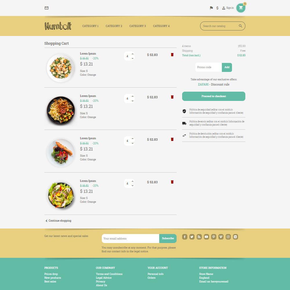 theme - Food & Restaurant - Pastele Food Store - 3