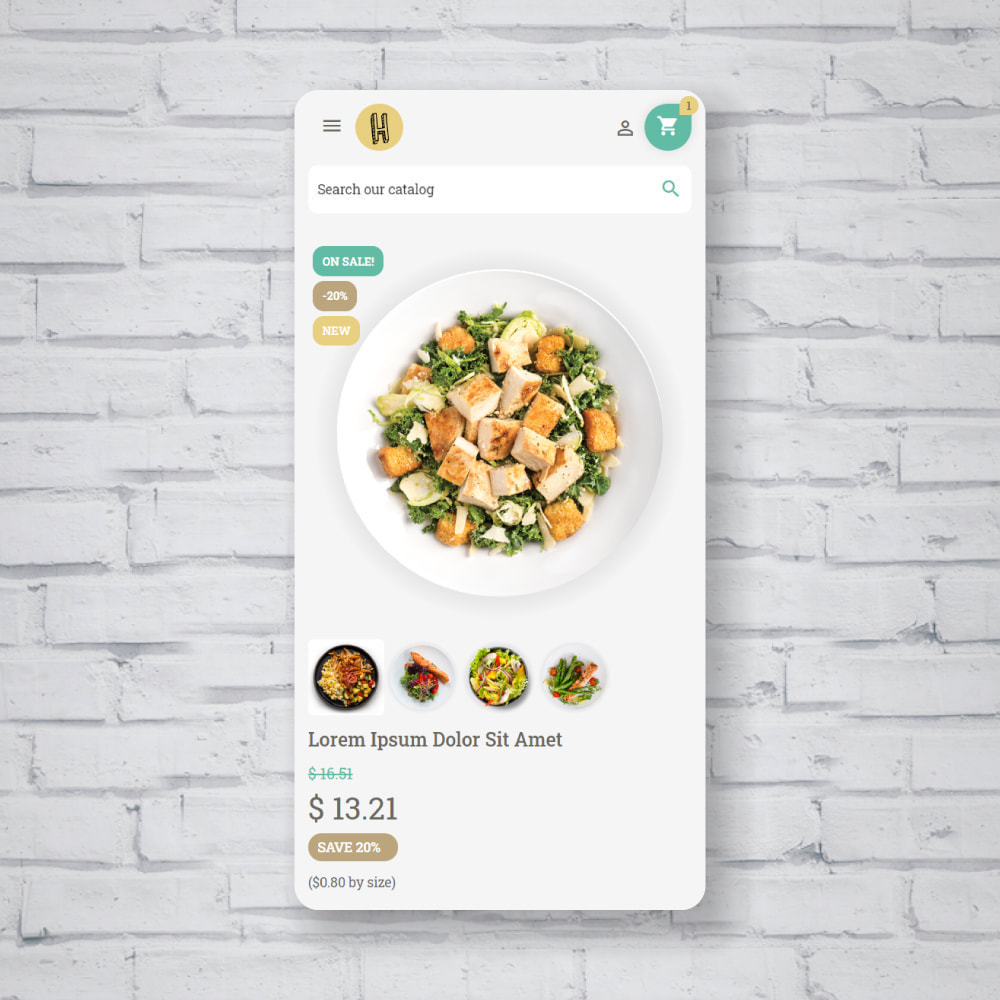 theme - Food & Restaurant - Pastele Food Store - 6