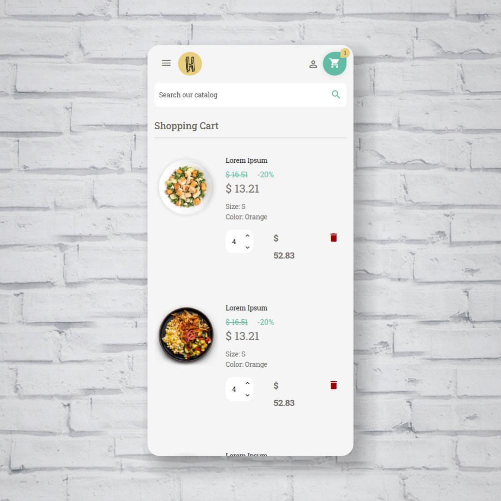 theme - Food & Restaurant - Pastele Food Store - 7