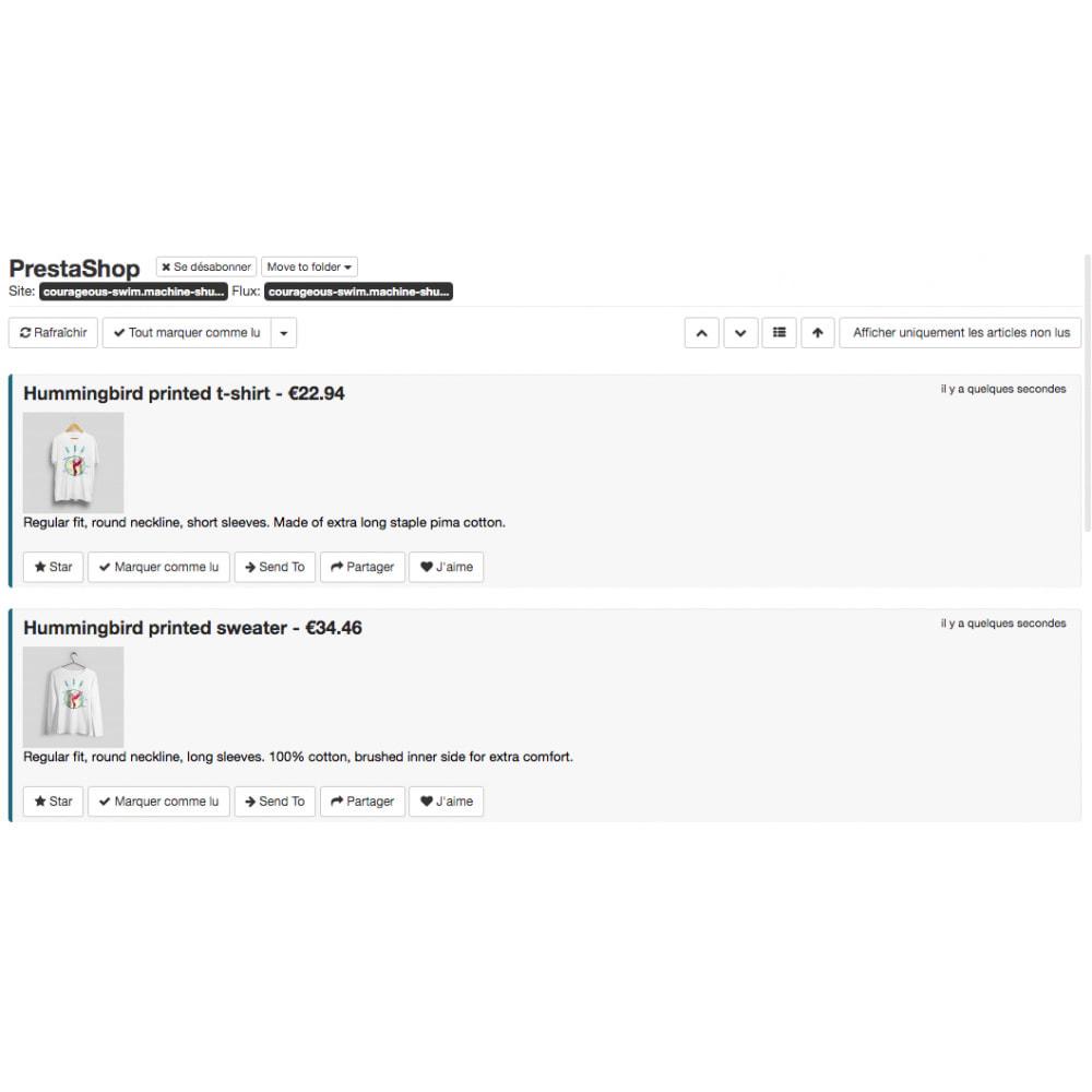 module - SEO (Posicionamiento en buscadores) - RSS products feed - 2