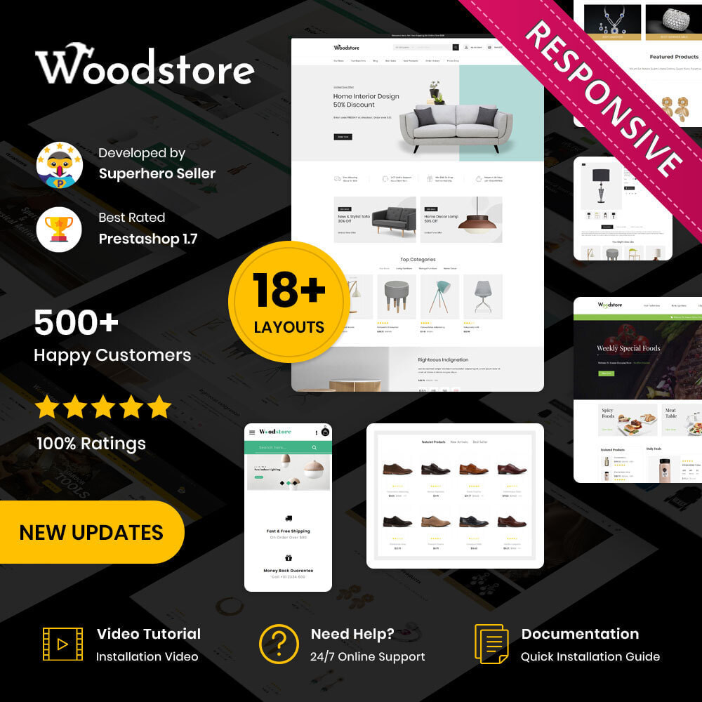 theme - Dom & Ogród - Wood - The Furniture Store - 1