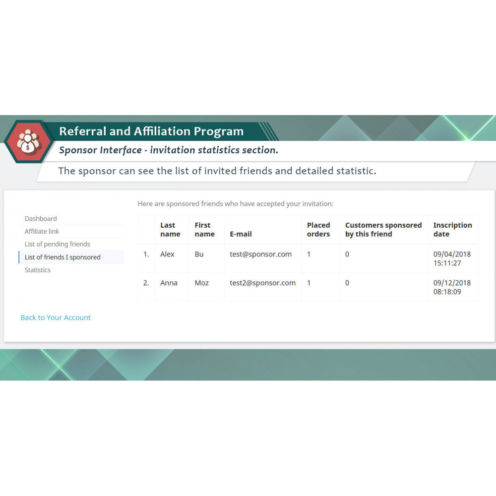 module - Indicizzazione a pagamento (SEA SEM) & Affiliazione - Programma di Affiliazione Plus - 3
