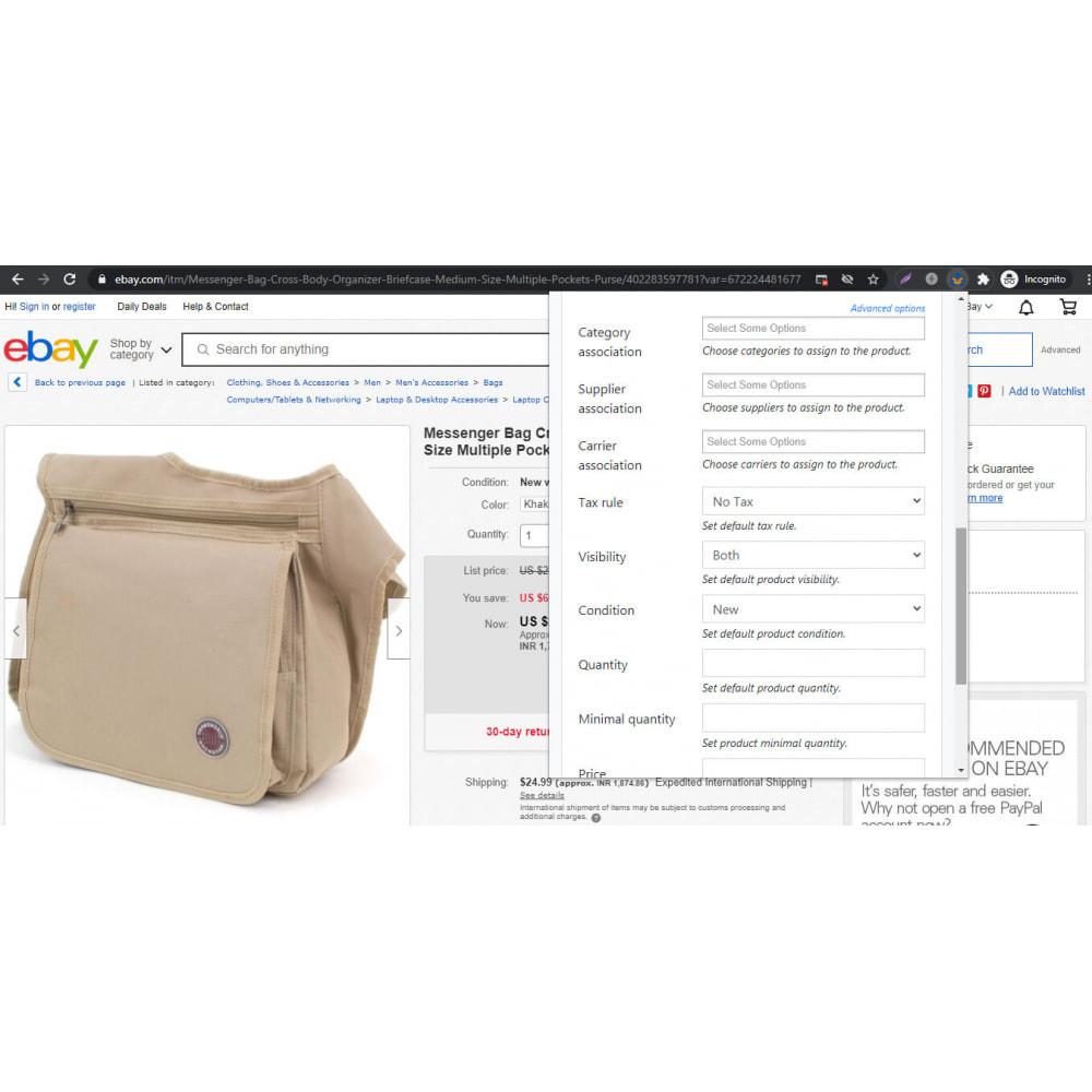 module - Importação & exportação de dados - Advanced Ebay Product Importer - 5