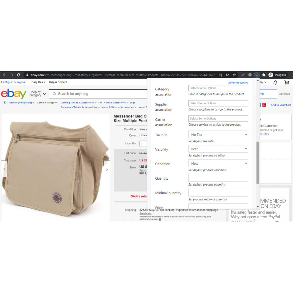 module - Data Import & Export - Advanced Ebay Product Importer - 5