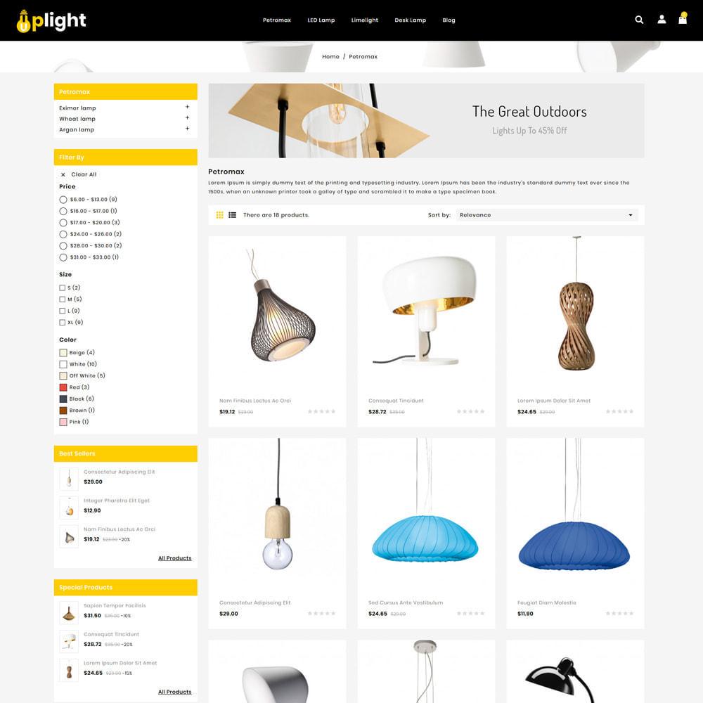 theme - Hogar y Jardín - Uplight - Light Shop - 3