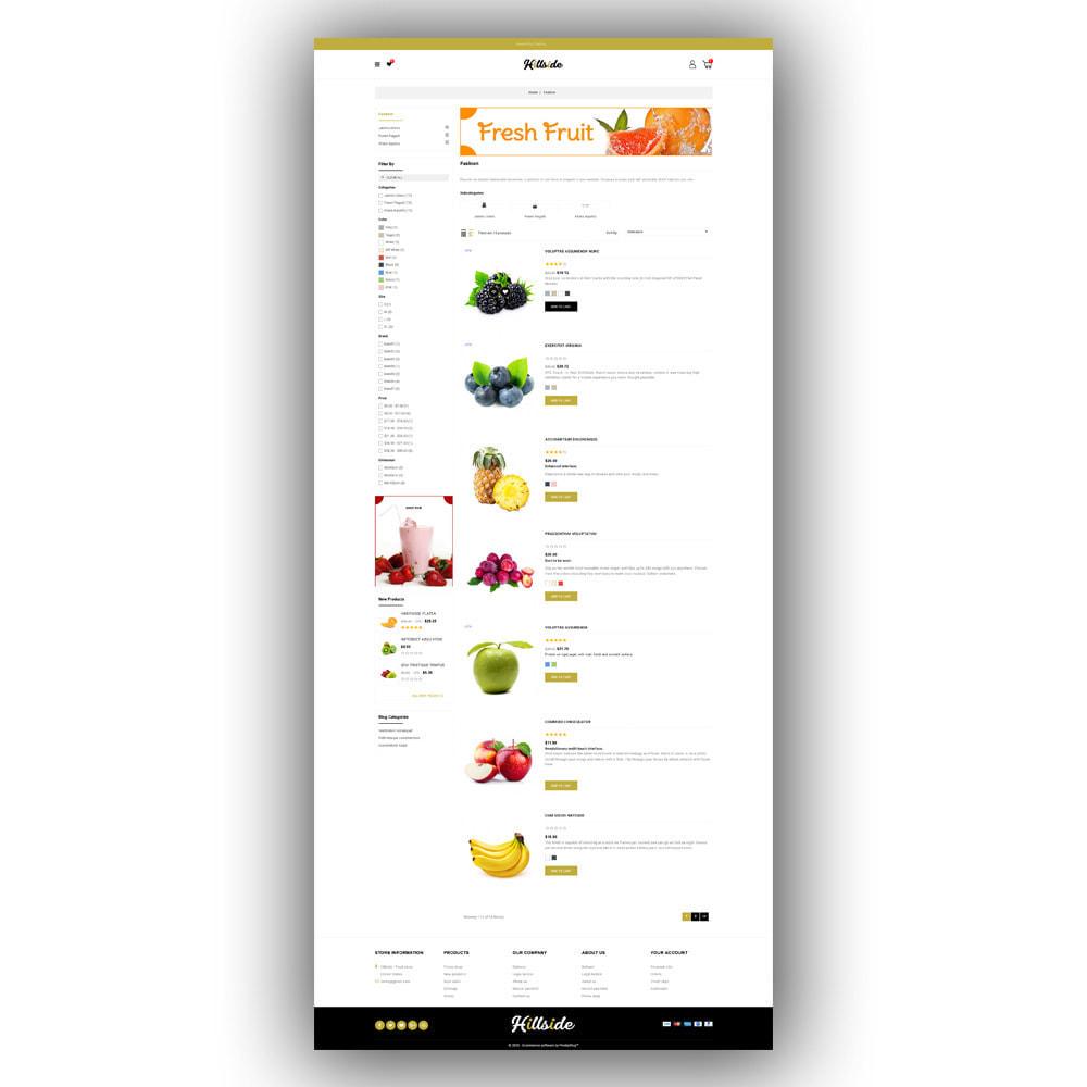 theme - Food & Restaurant - Hillside - Food Store - 5