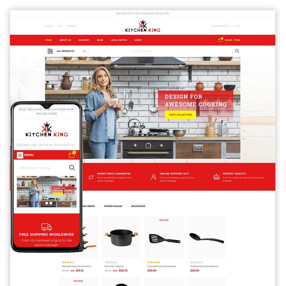 theme - Home & Garden - Kitchenking - Kitchen Store - 1