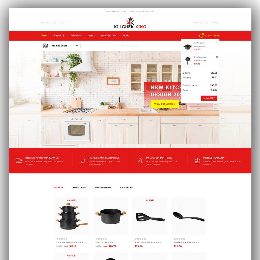 theme - Home & Garden - Kitchenking - Kitchen Store - 3