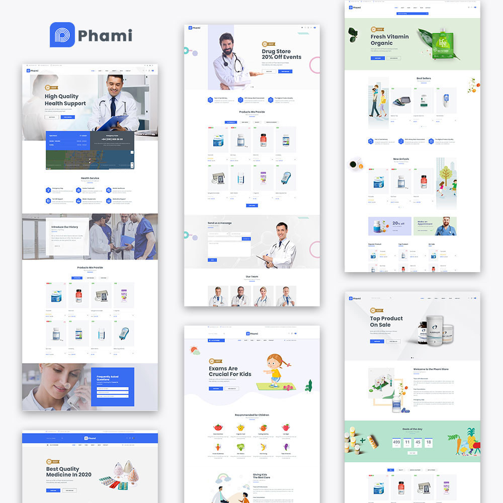 theme - Health & Beauty - Phami - Medical & Health Stores - 3