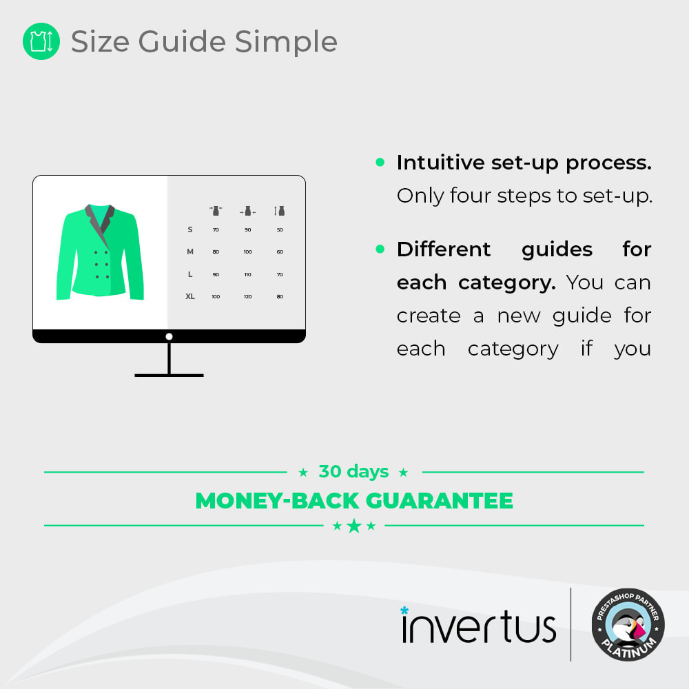 module - Sizes & Units - Size Guide Simple - Product Size Chart - 2