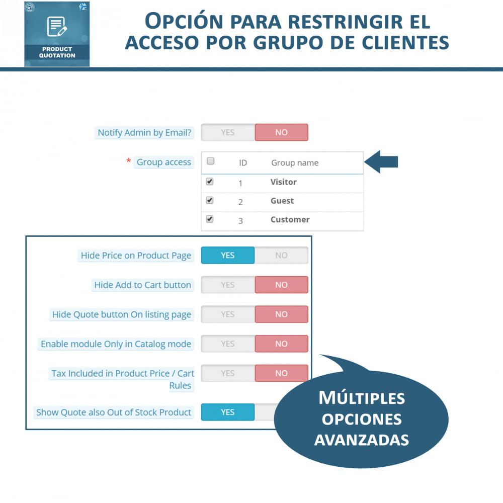 module - Presupuestos - Cotización de Producto - Permitir al Cliente Cotizar - 9
