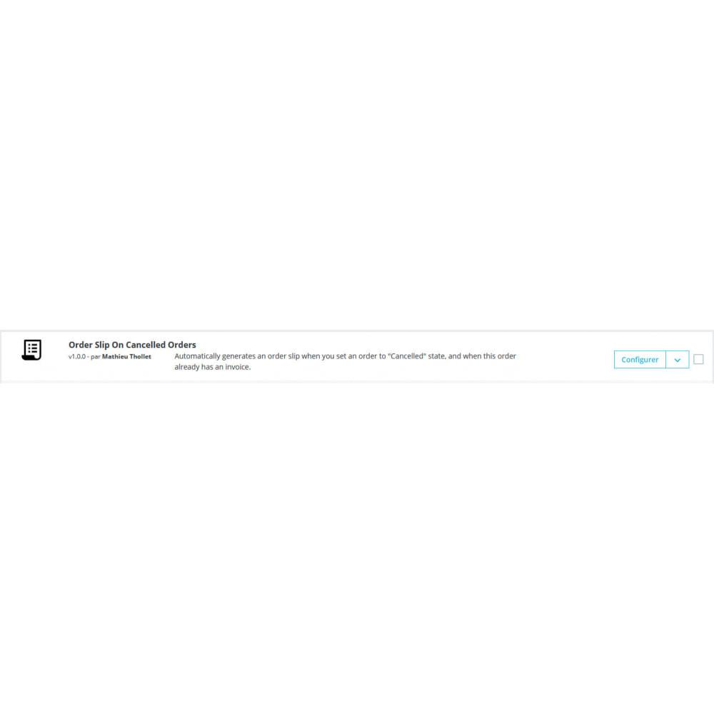 module - Бухгалтерии и выставления счетов - Автоматическое проскальзывание при отмене заказов - 1