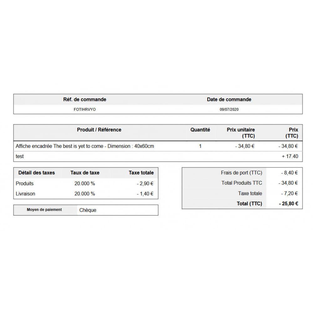 module - Contabilidade & Cobrança - Entrega automática de pedidos em pedidos cancelados - 2