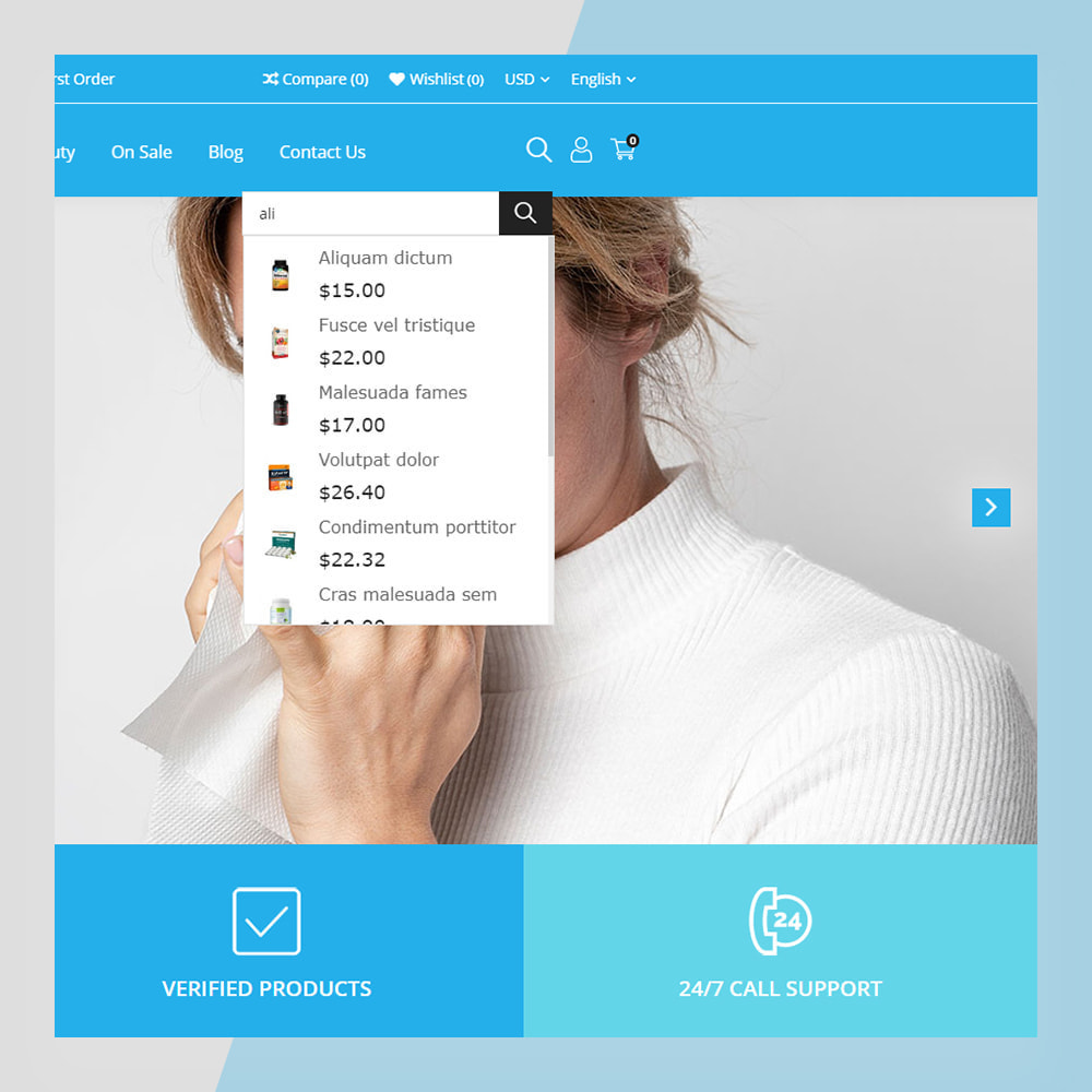 theme - Saúde & Beleza - Medical Solutions - Medical and Medicine Store Template - 5