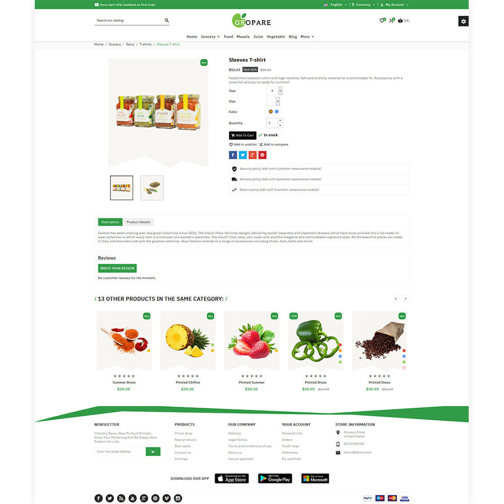 theme - Food & Restaurant - Fropare Fresh Grocery Shop - 5