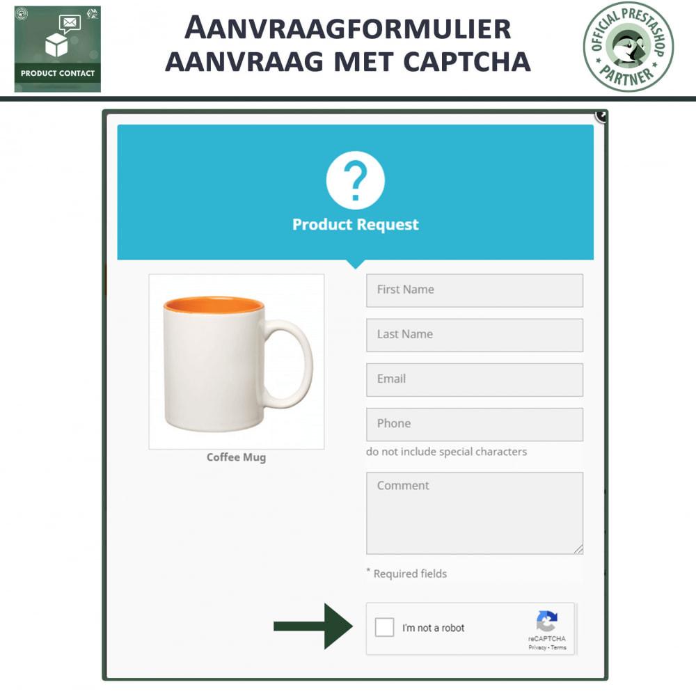 module - Contactformulier & Enquêtes - Product Contact - onderzoek Formulier - 3