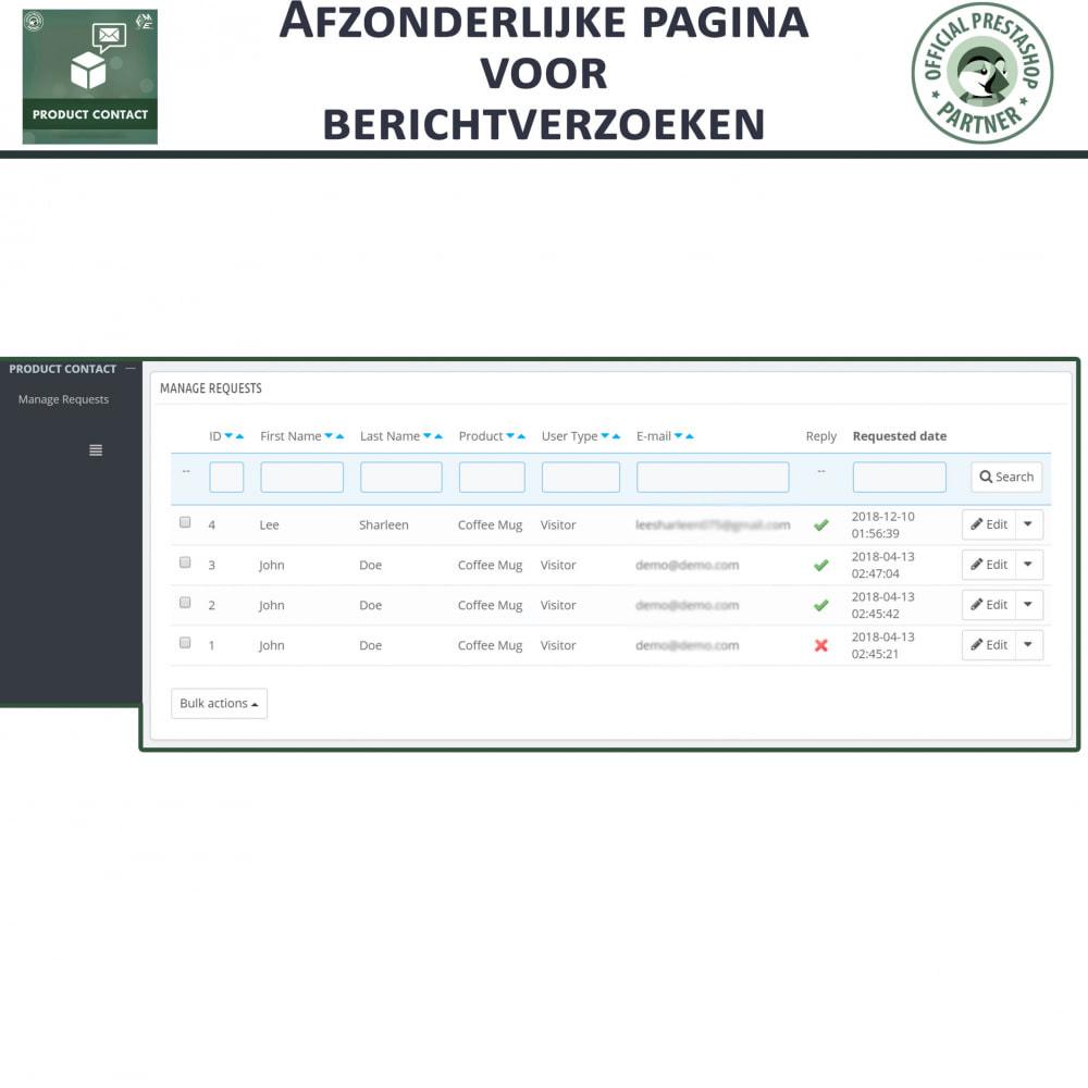 module - Contactformulier & Enquêtes - Product Contact - onderzoek Formulier - 8