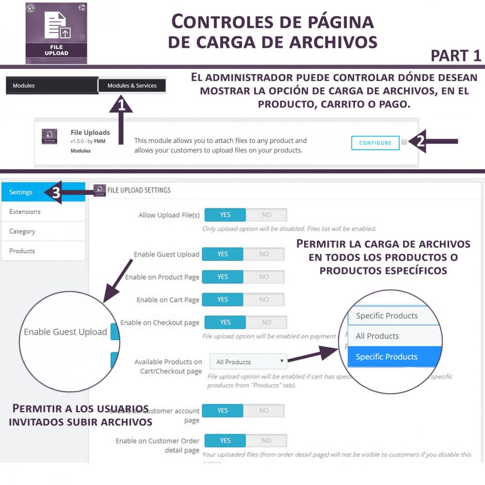 module - Informaciones adicionales y Pestañas - Carga de Archivos por Cliente - 8