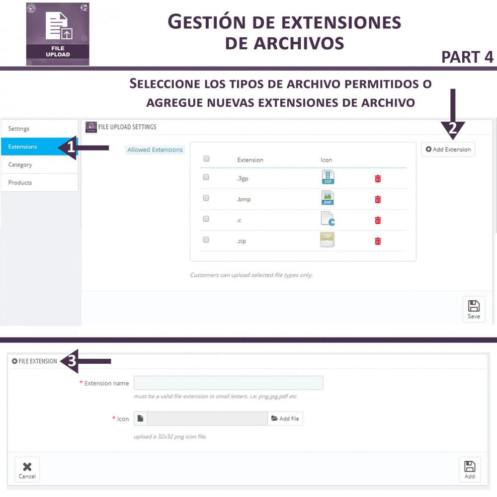 module - Informaciones adicionales y Pestañas - Carga de Archivos por Cliente - 11