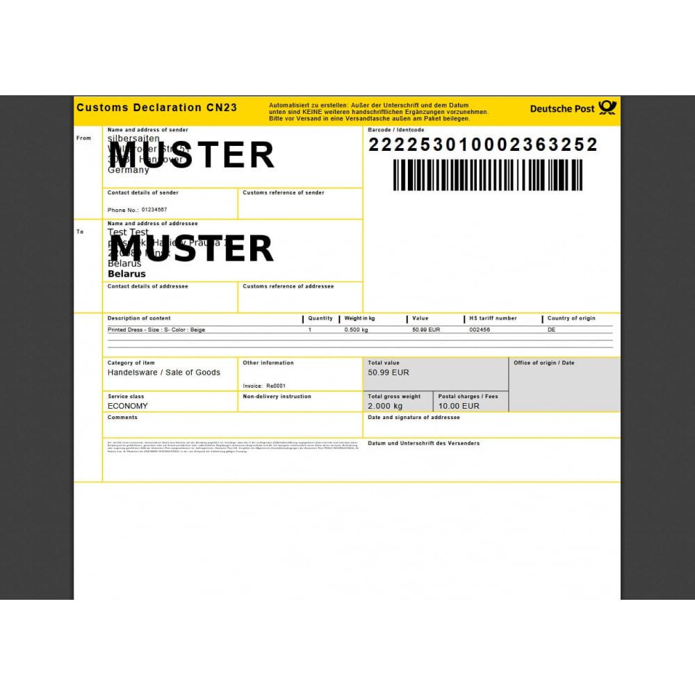 module - Transporteurs - DHL Business Portal - 6