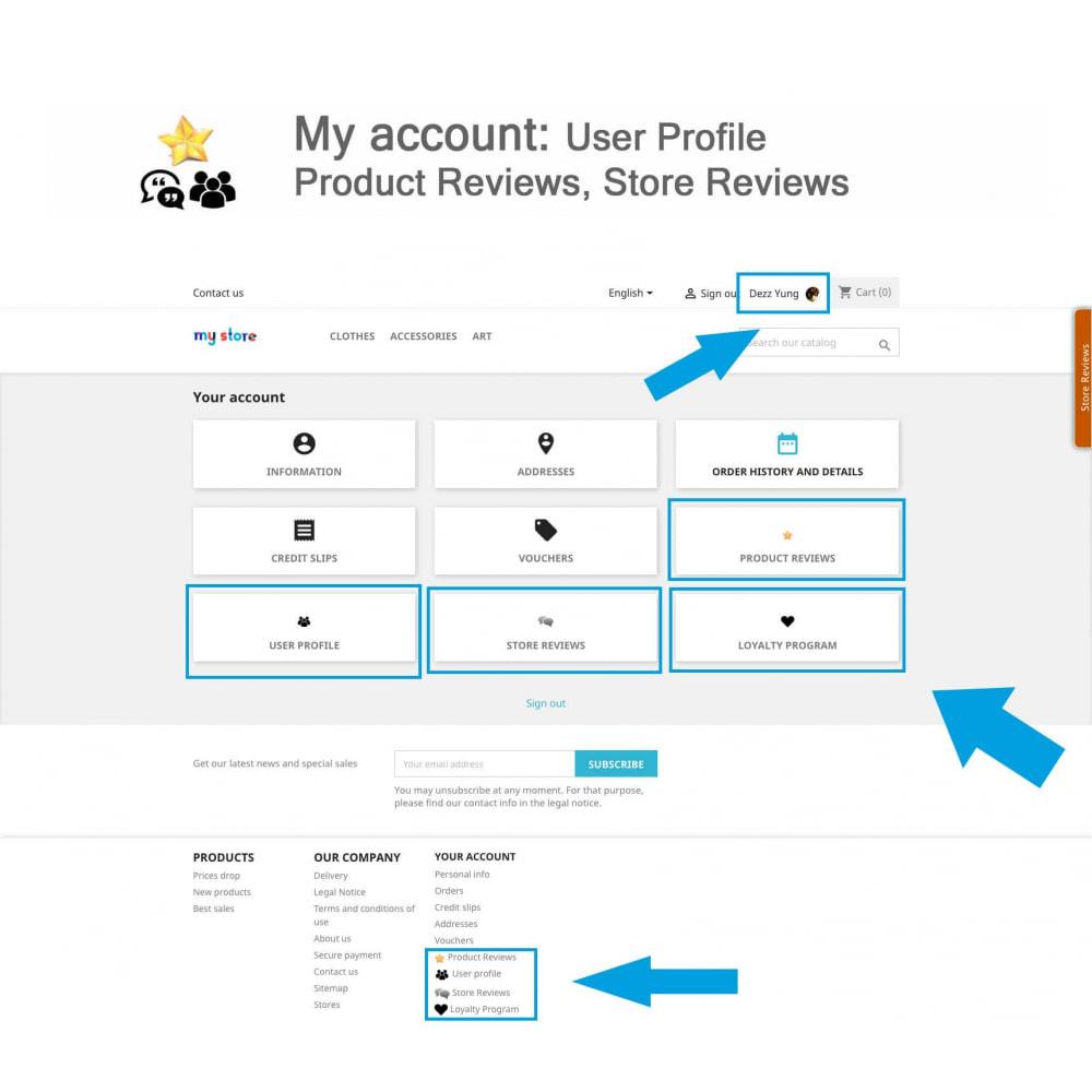 module - Kundenbewertungen - Product Reviews+Shop Reviews, Loyalty Program, Reminder - 19