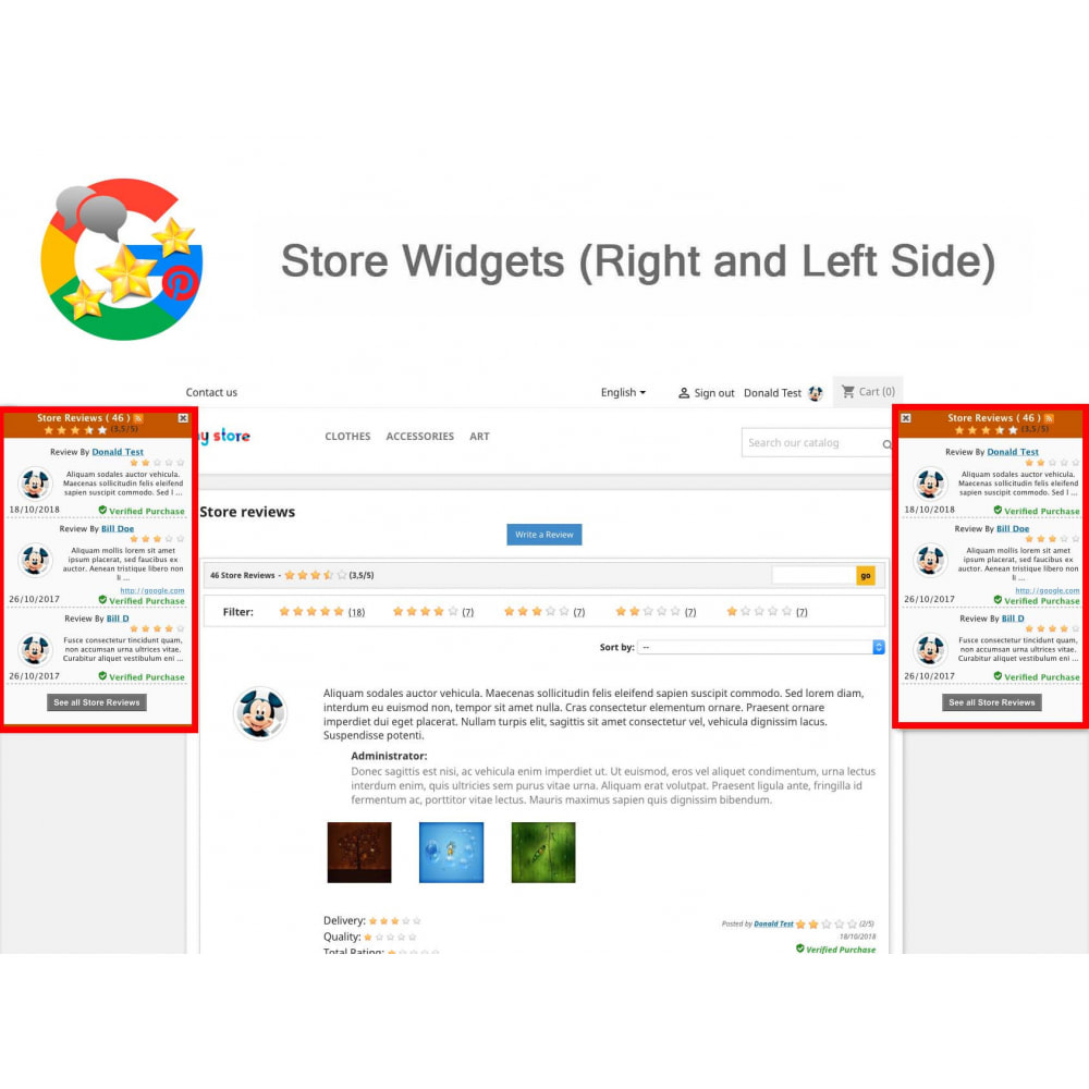 module - Opinie klientów - Product, Shop Reviews, Loyalty Program, Google Snippets - 19