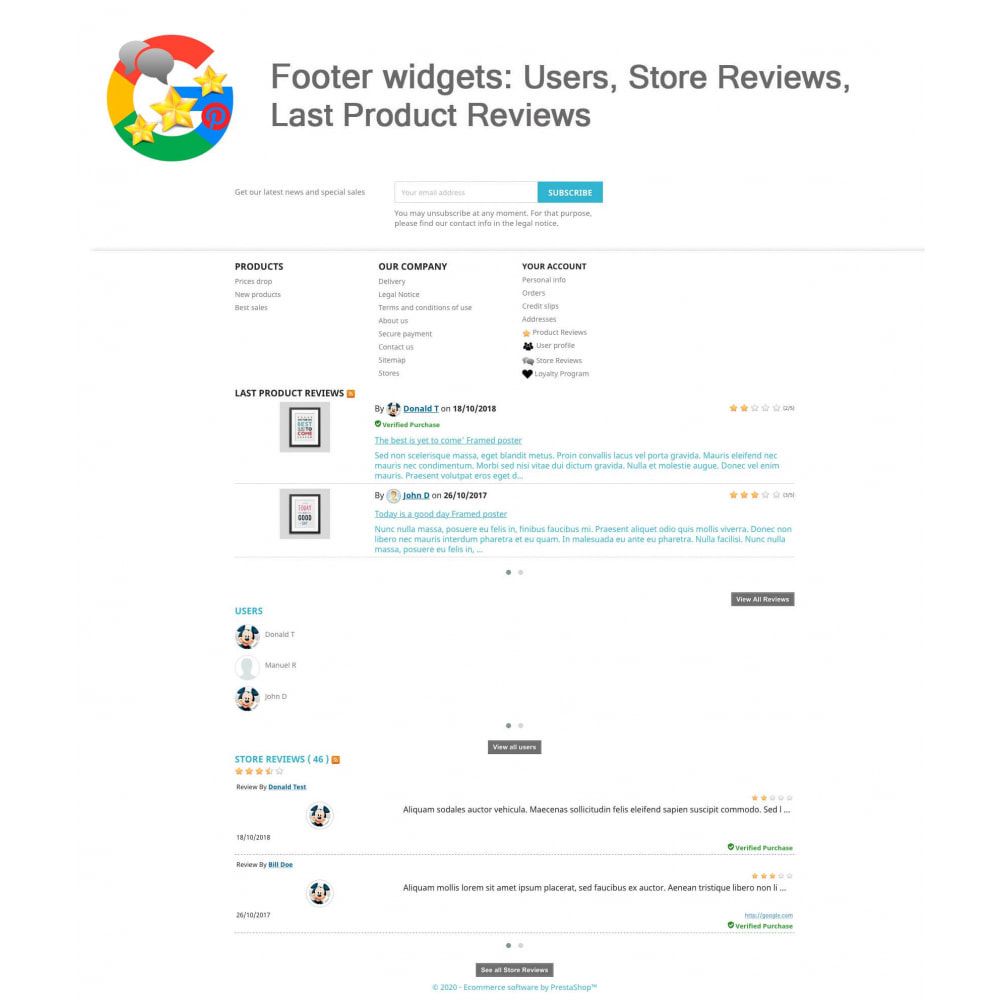 module - Opinie klientów - Product, Shop Reviews, Loyalty Program, Google Snippets - 21