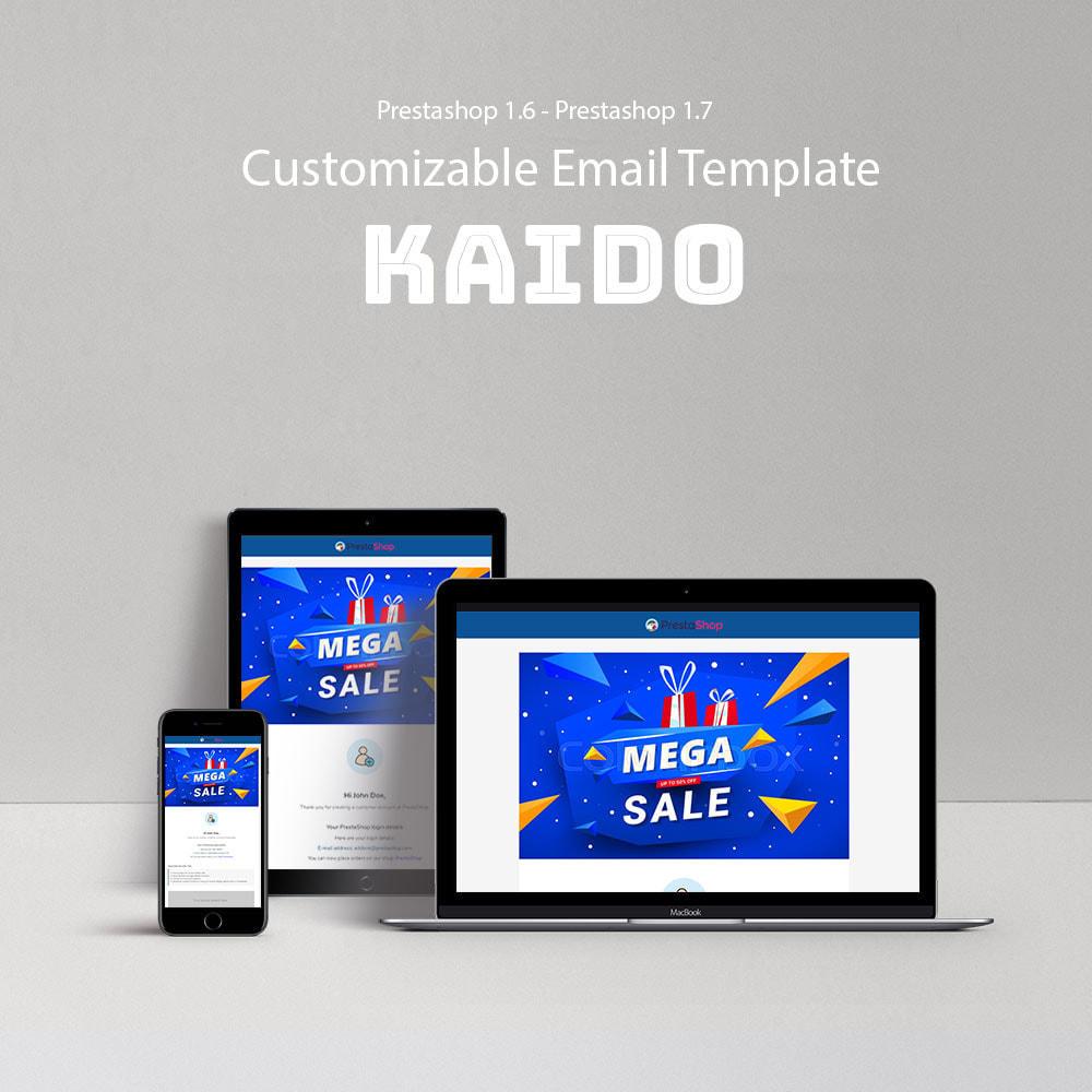 email - Modelos de e-mails da PrestaShop - Kaido - Template emails and for emails of module - 1