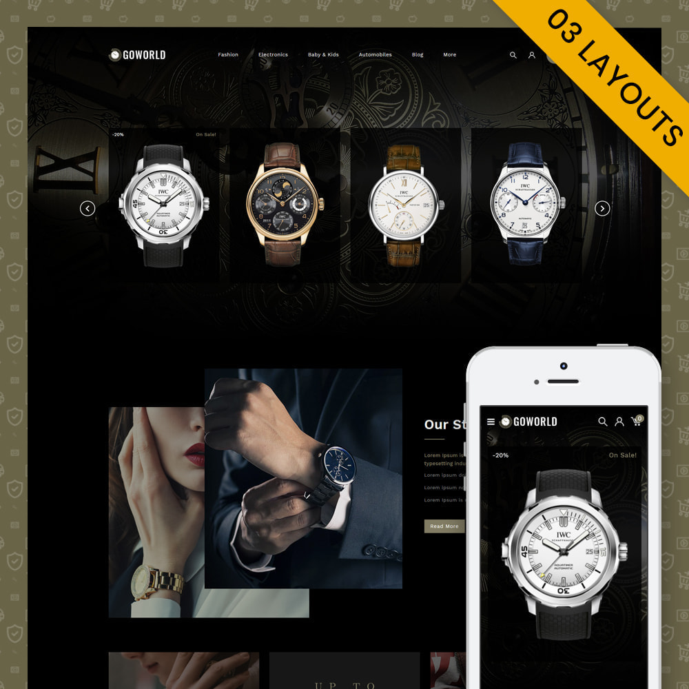 theme - Regali, Fiori & Feste - Go World - Watch Store - 1