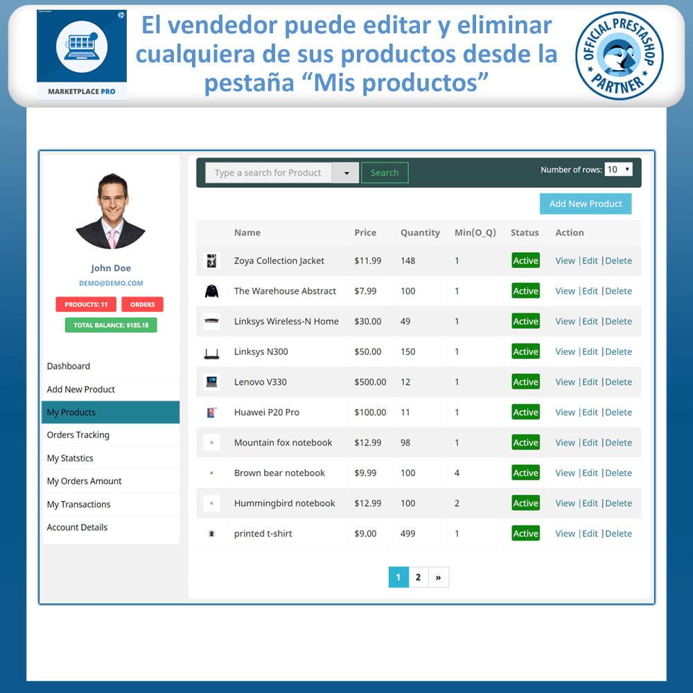 module - Creación de Marketplace - Multi Vendor Marketplace  - Marketplace Pro - 14