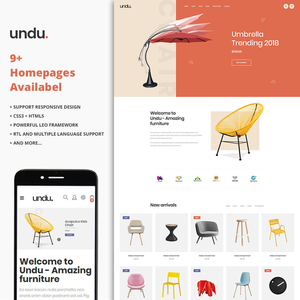 theme - Kultura & Sztuka - Undu - The Furniture Store - 1