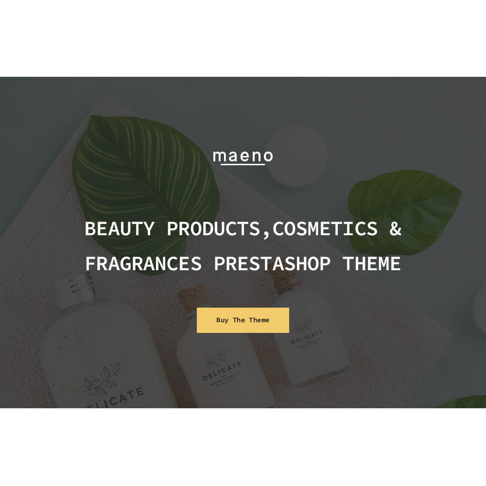 theme - Gezondheid & Schoonheid - Leo Maeno – Beauty Products, Cosmetics & Fragrances - 1