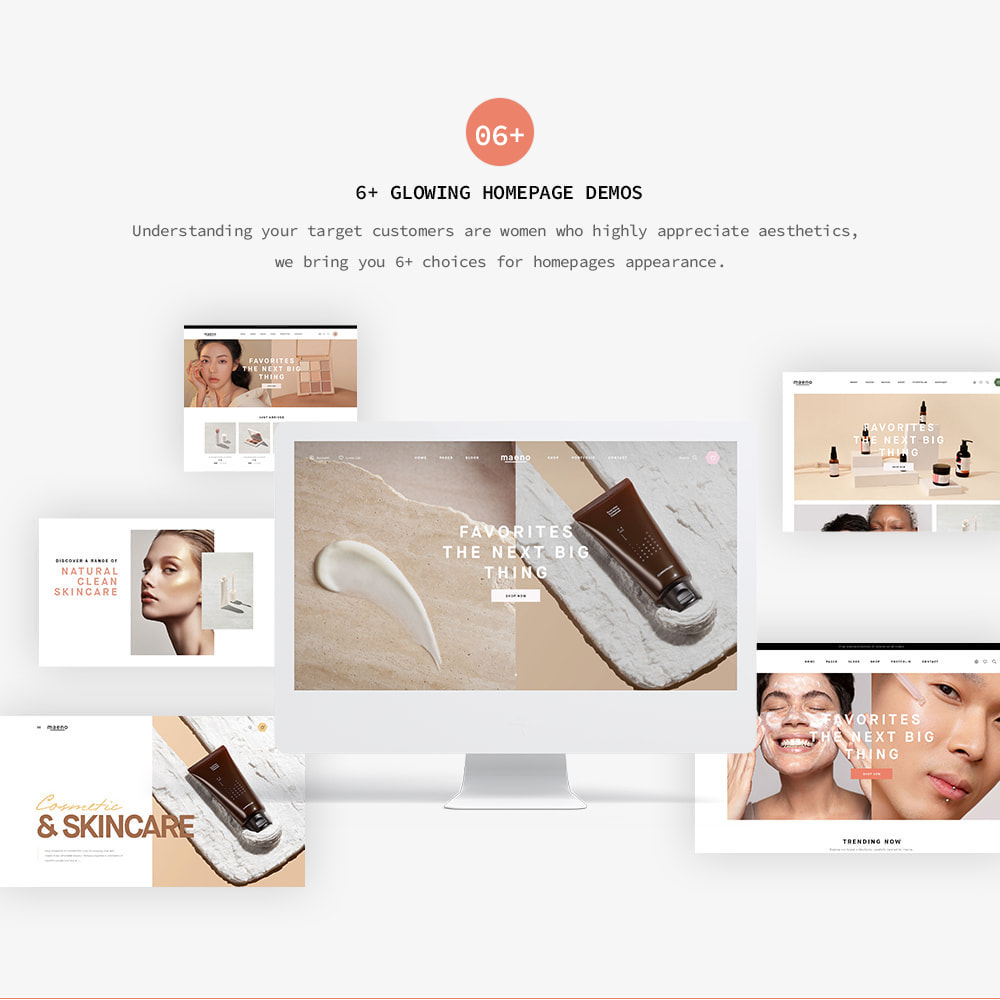 theme - Gezondheid & Schoonheid - Leo Maeno – Beauty Products, Cosmetics & Fragrances - 2