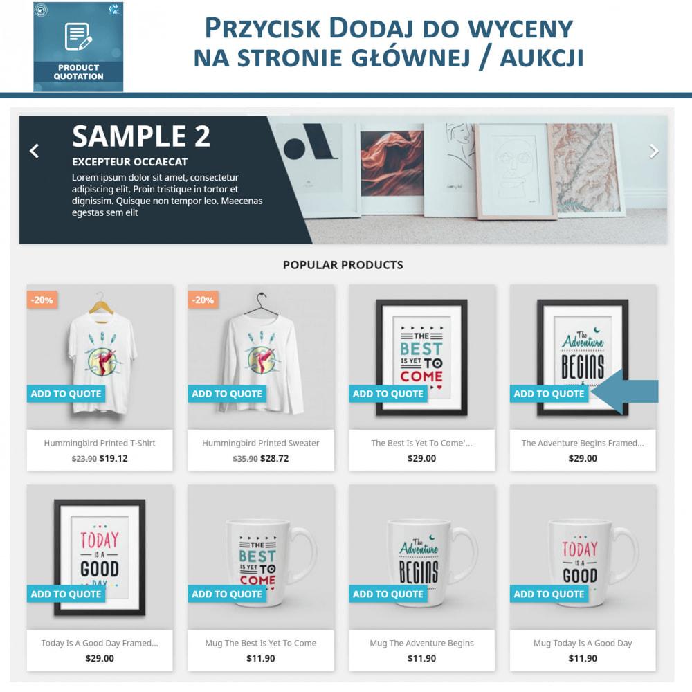 module - Wyceny - Wycena produktu - Pozwól klientowi poprosić o wycenę - 2