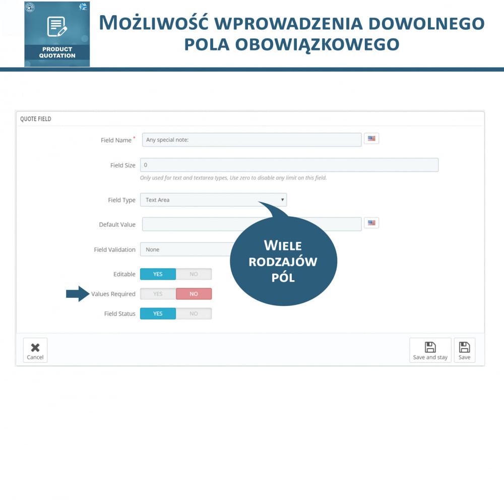 module - Wyceny - Wycena produktu - Pozwól klientowi poprosić o wycenę - 16