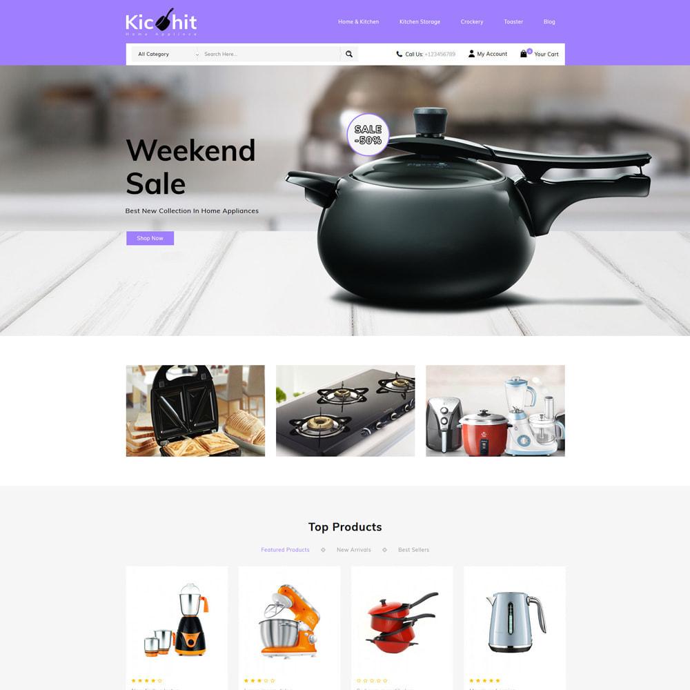 theme - Дом и сад - Kichit - kitchen Essential Store - 2