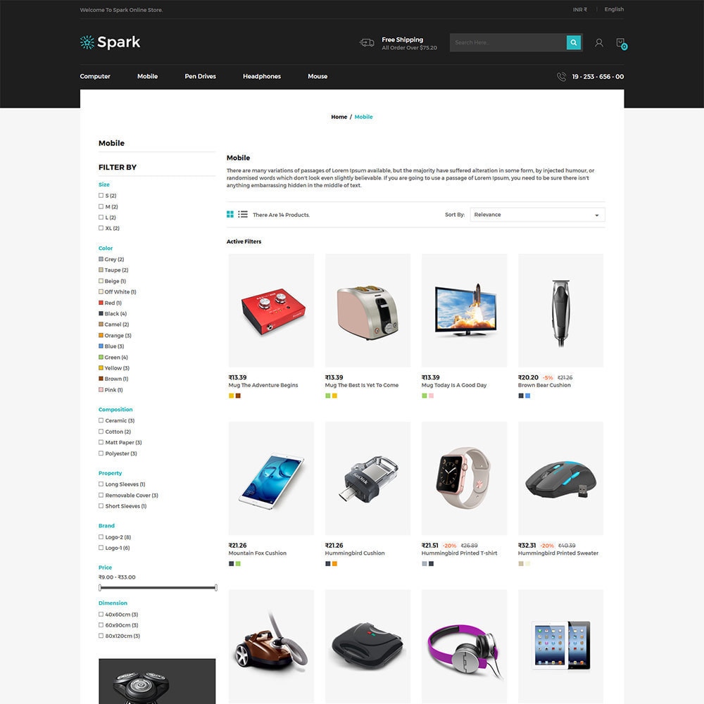theme - Autos & Motorräder - Spark Mobile - Digitaler Elektronikladen - 4